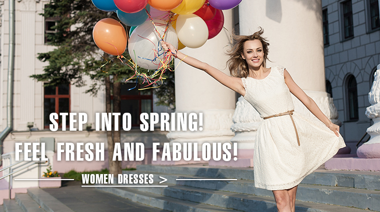 Step into Spring!