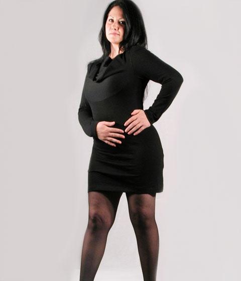 Fashion Plus Size Dress Radina - SpiralFashion.com