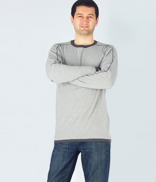 Long Sleeved Men Blouse Brian