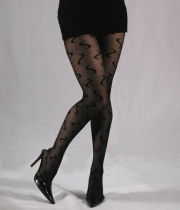 Women Patterned Tights Symphony