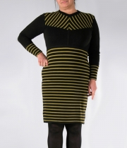 Women Plus Size Dress Bony