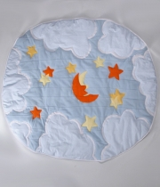 Kids Rug Moon Sleeps