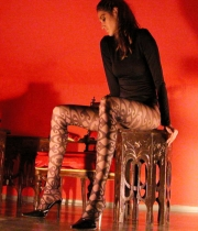 Women Fashion Patterned Tights Crown