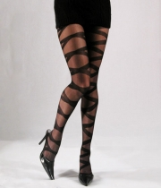 Women Patterned Tights Lady
