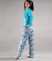 Printed Cotton Pajama Sunrise