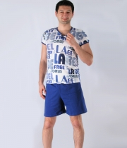 Men Cotton Pajamas Labe