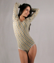Women Stretch Bodysuit Modena