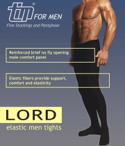 Opaque Mens Tights with Comfort Band Lord 50Den