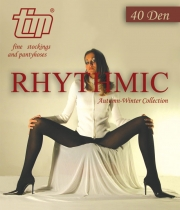 Semi-sheer tights Rhythmic 40Den