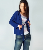 Women Blue Cardigan Elsa