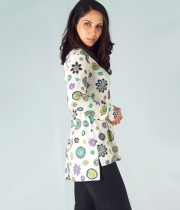 Long Sleeved Tunic Fleur