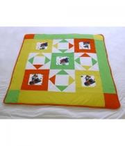 Patchwork Quilt Clown